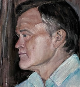 Porträtt,Profilbild ,Mannen